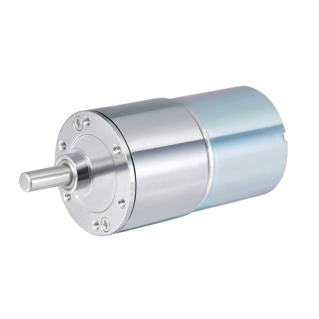 24V DC 20 RPM Gear Motor High Torque Reduction Gearbox Eccentric Output Shaft