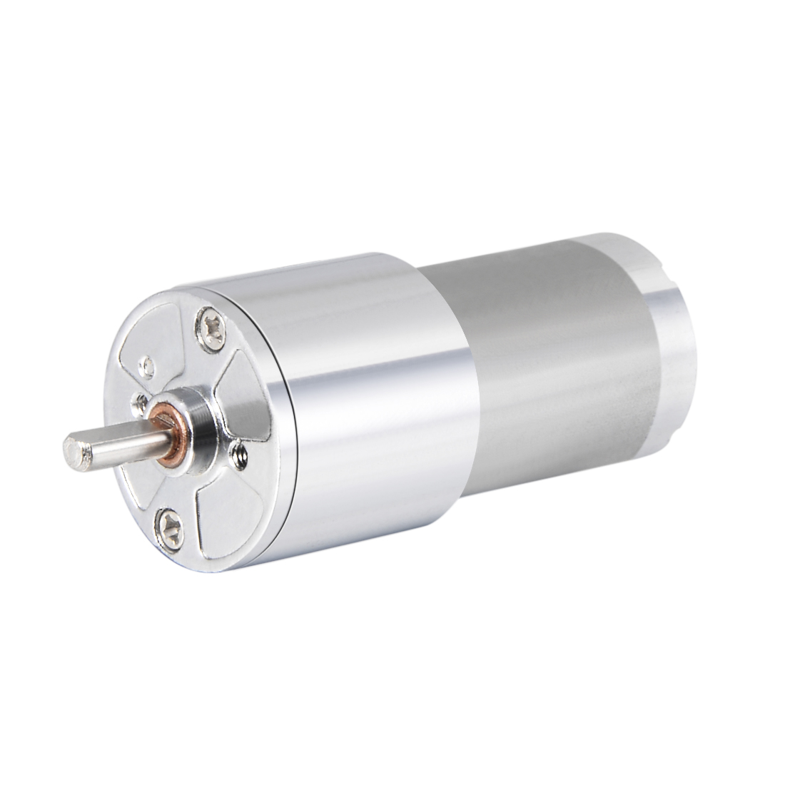 12V DC 25 RPM Gear Motor High Torque Reduction Gearbox Centric Output D Shaft