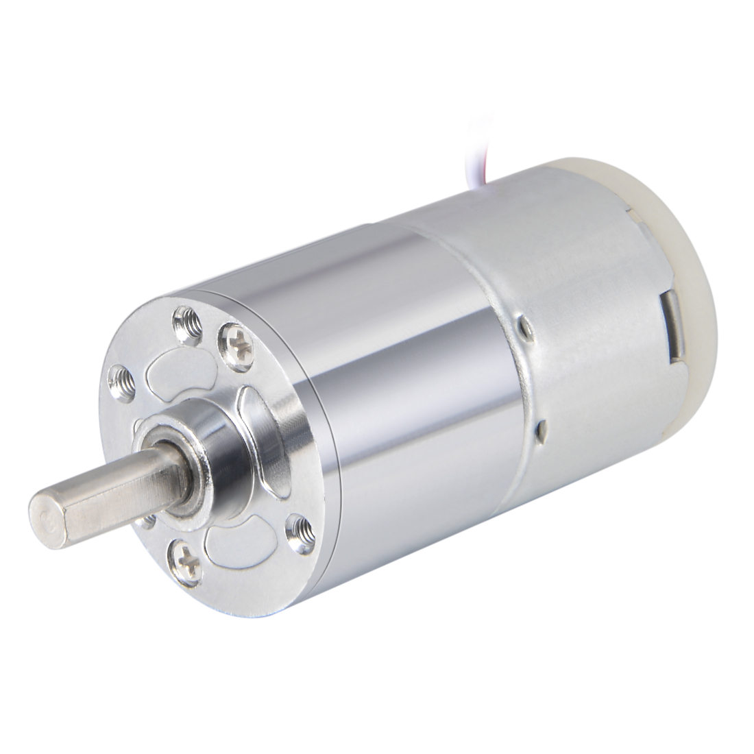 24V DC 15 RPM Gear Motor High Torque Reduction Gearbox Centric Output Shaft