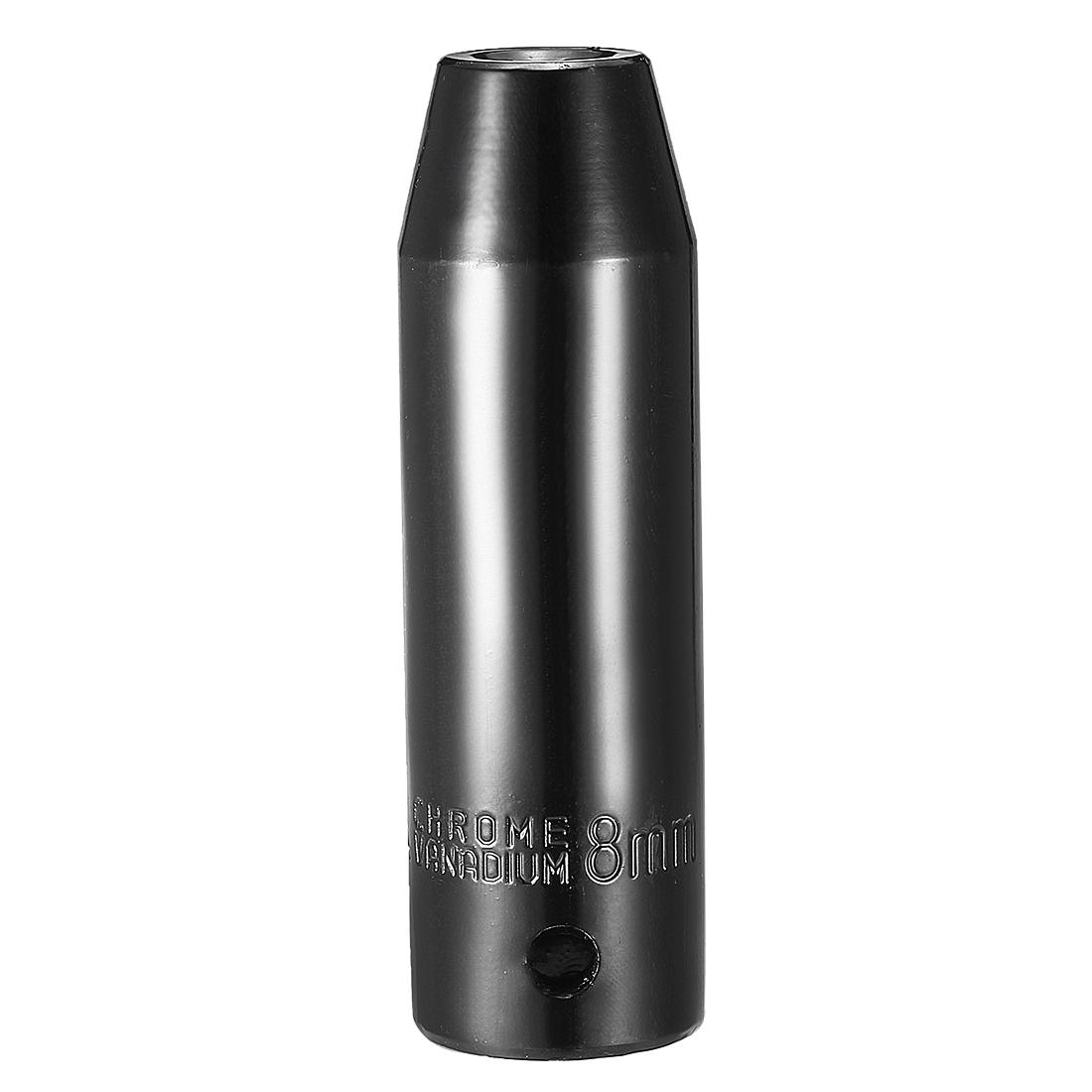 1/2-inch Drive 8mm 6-Point Deep Impact Socket, Cr-V Steel