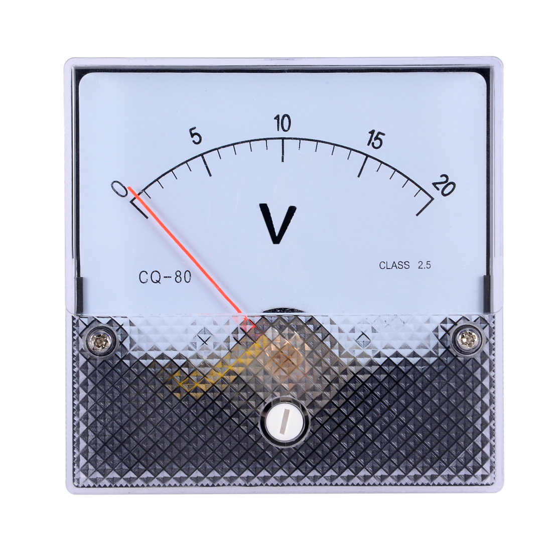 AC 0-20V Analog Panel Voltage Gauge Volt Meter CQ-80 2.5% Error Margin