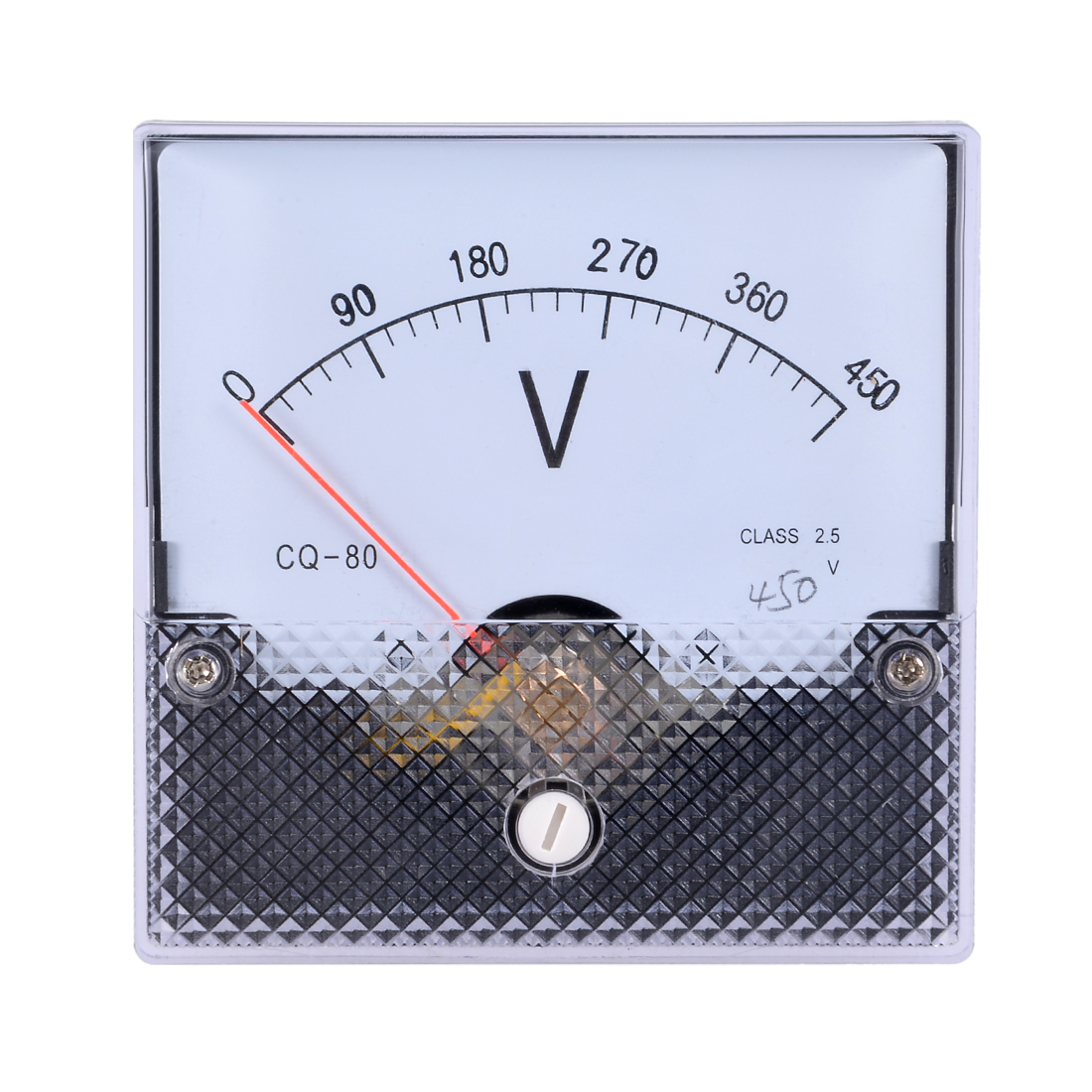 AC 0-450V Analog Panel Voltage Gauge Volt Meter CQ-80 2.5% Error Margin