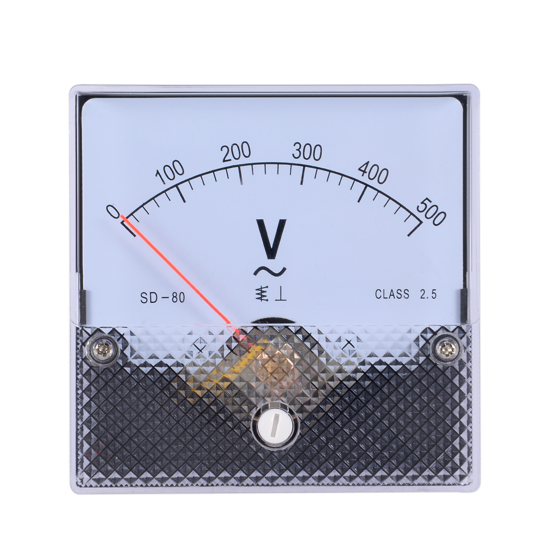 AC 0-500V Analog Panel Voltage Gauge Volt Meter CQ-80 2.5% Error Margin