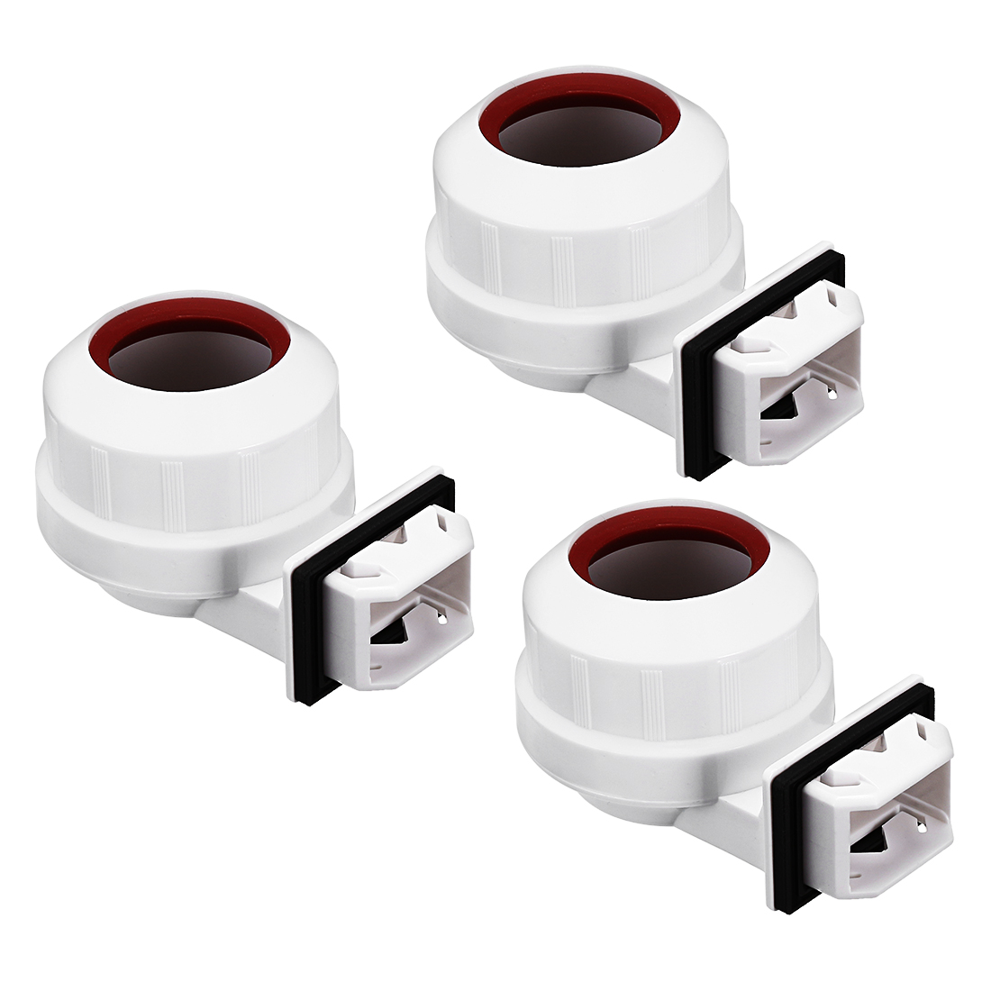 3pcs 2A G13-F41G T8 Light Socket G13 Base Fluorescent Lamp Holder w Cover