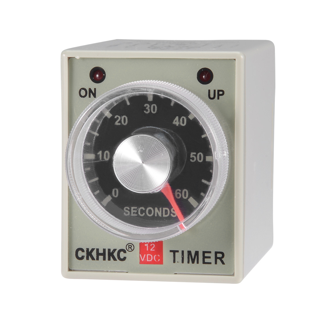 DC12V 60S 8 Terminals Range Adjustable Delay Timer Time Relay AH3-3