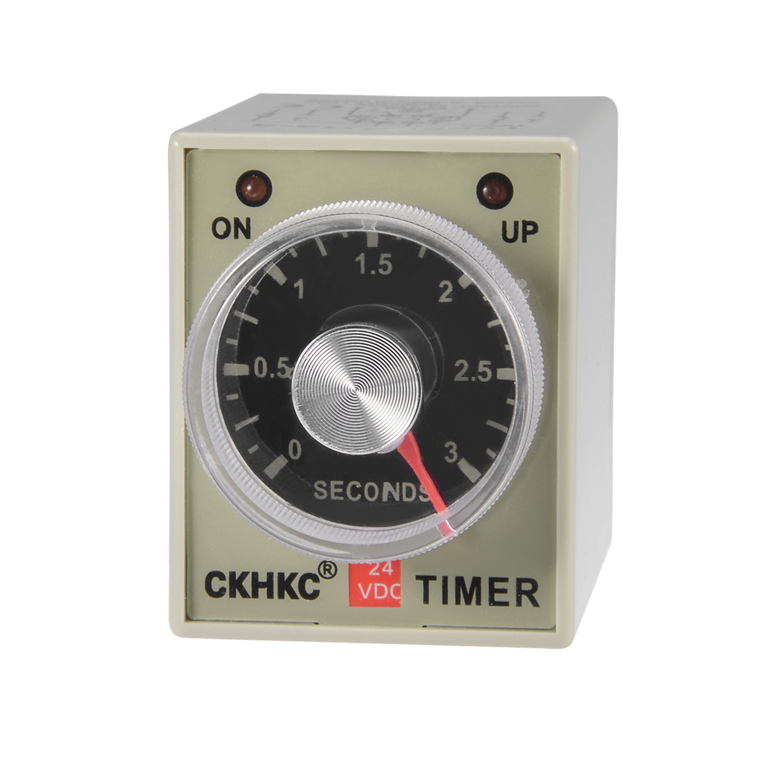 DC24V 3S 8 Terminals Range Adjustable Delay Timer Time Relay AH3-2