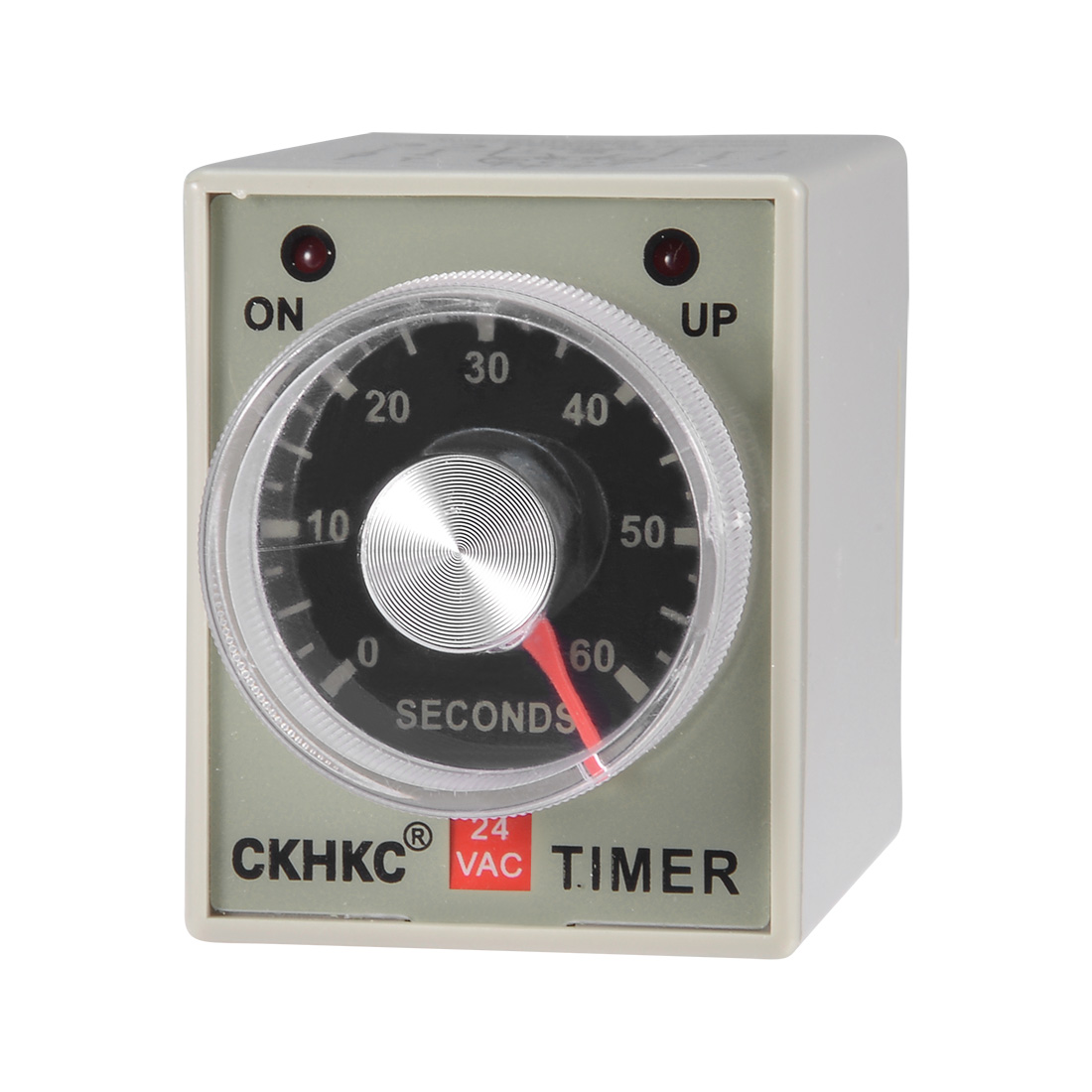 AC24V 60S 8 Terminals Range Adjustable Delay Timer Time Relay AH3-3