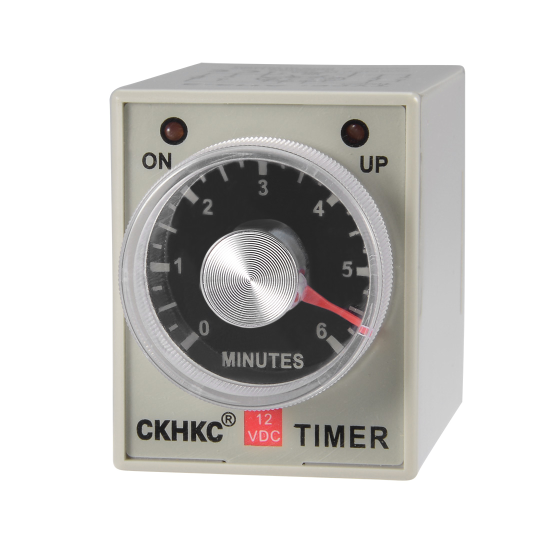 DC12V 6M 8 Terminals Range Adjustable Delay Timer Time Relay AH3-3