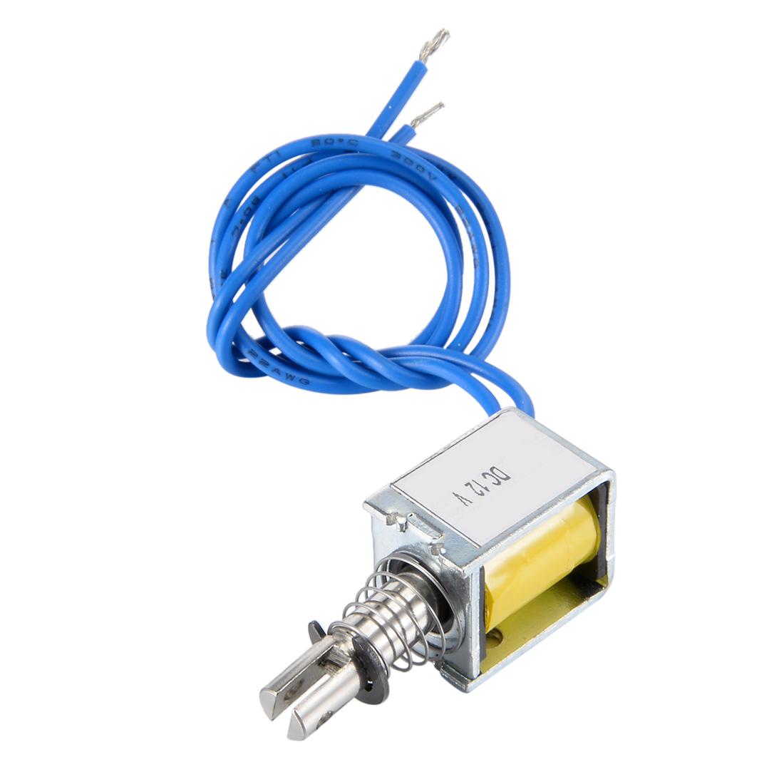 ZYE1(TAU)-0520 DC 12V Pull Type Open Frame Solenoid Electromagnet