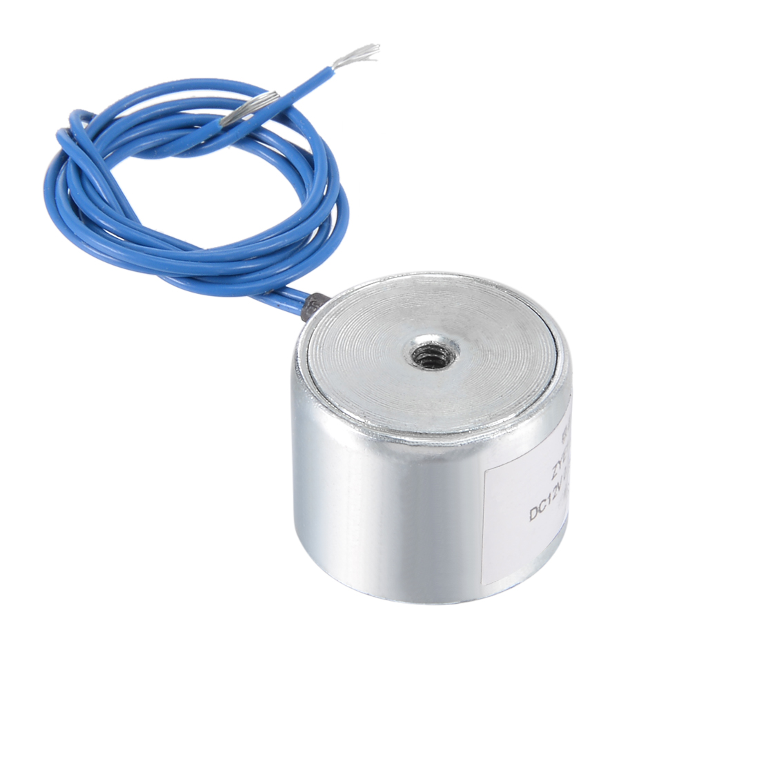 20mm x 15mm DC12V 0.25A 25N Sucking Disc Solenoid Lift Holding Electromagnet