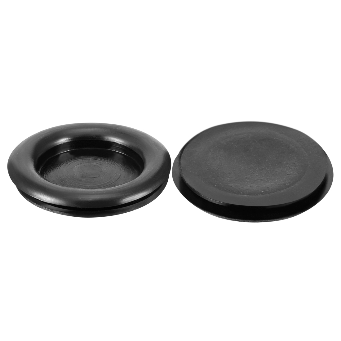 Wire Protector Oil Resistant Rubber Grommets 30mm Mounting Dia 20 Pcs Black
