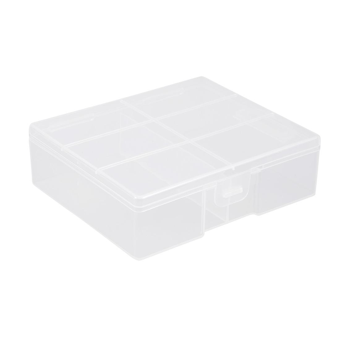 Battery Storage Case Holder Storage Box Transparent 24 x AA Battery Capacity