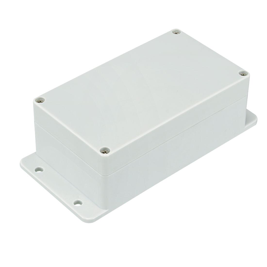 158 x 90 x 60mm Electronic Plastic DIY Junction Box Enclosure Case Grey