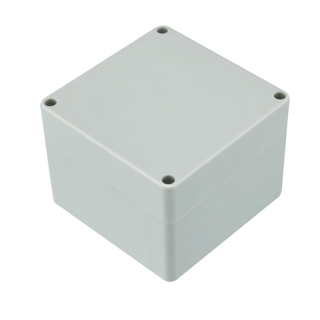 120 x 120 x 90mm Electronic Plastic DIY Junction Box Enclosure Case Gray