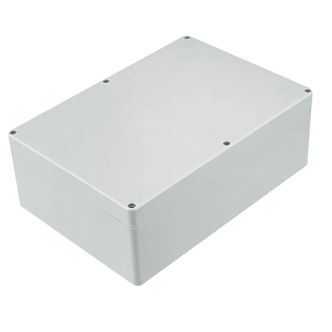 262 x 184 x 95mm Electronic Plastic DIY Junction Box Enclosure Case Gray