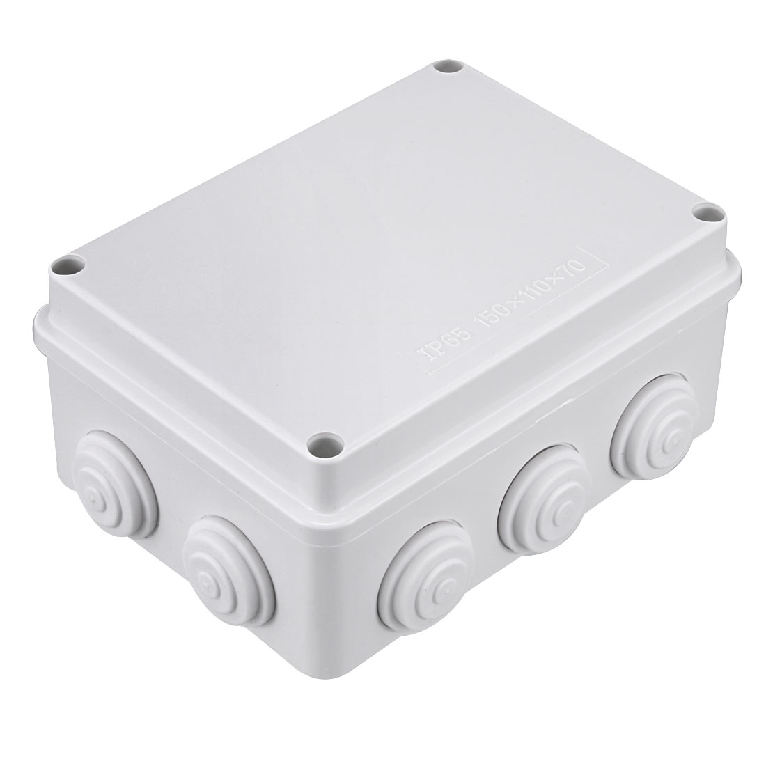 153 x 112 x 70mm Electronic Plastic DIY Junction Box Enclosure Case White