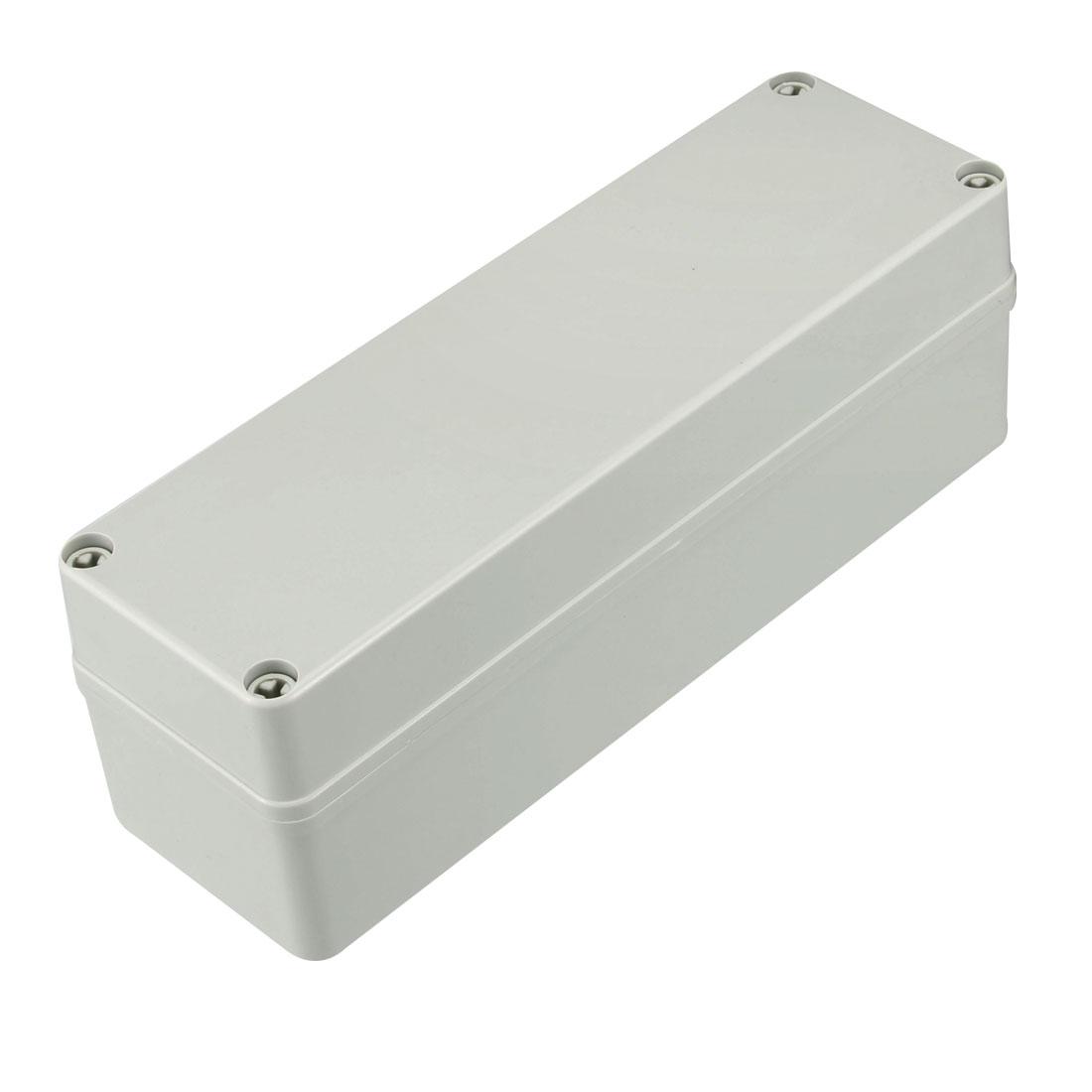 250 x 80 x 85mm Electronic Plastic DIY Junction Box Enclosure Case Gray