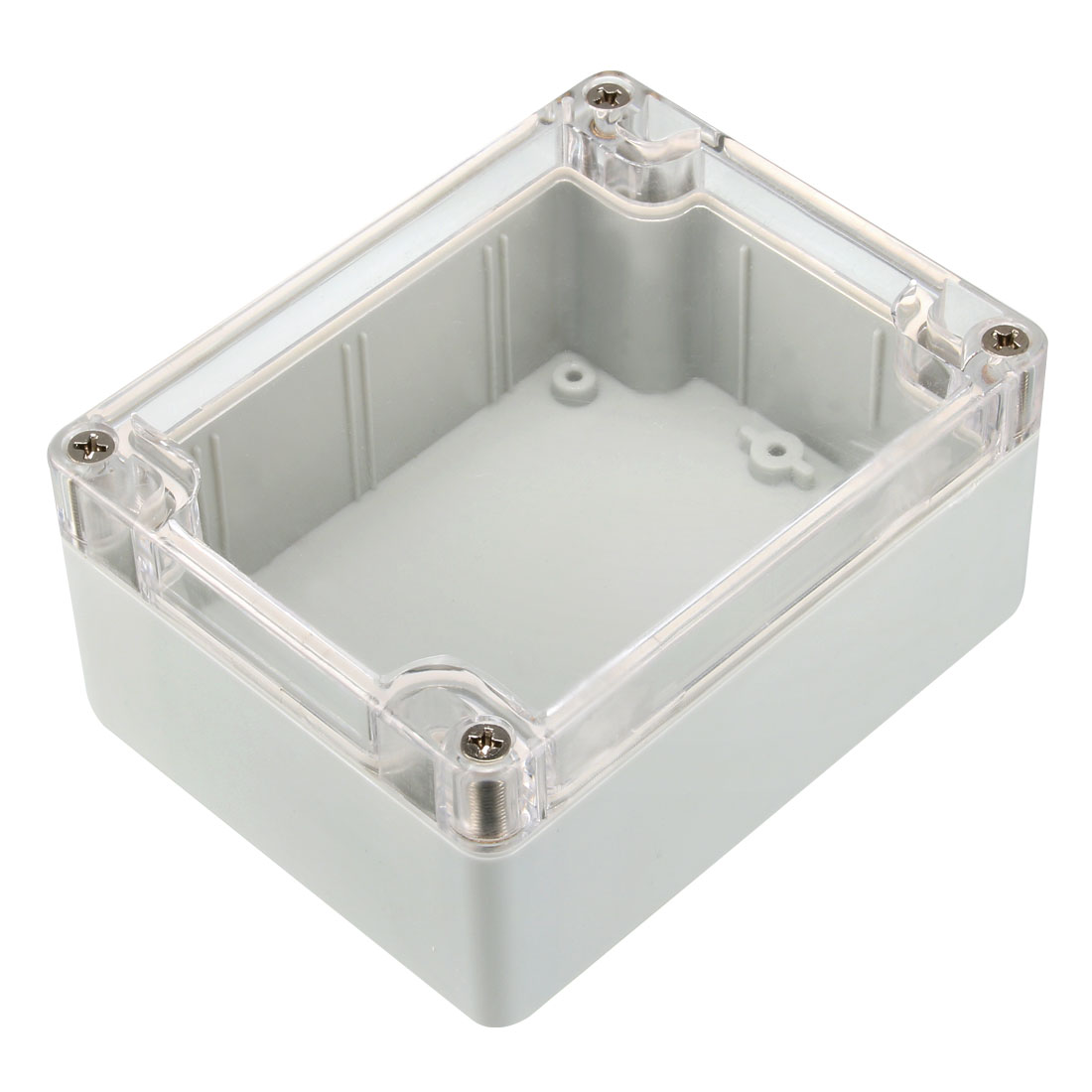 115mmx90mmx55mm IP65 Electronic Plastic Junction Box Enclosure Case Gray Color