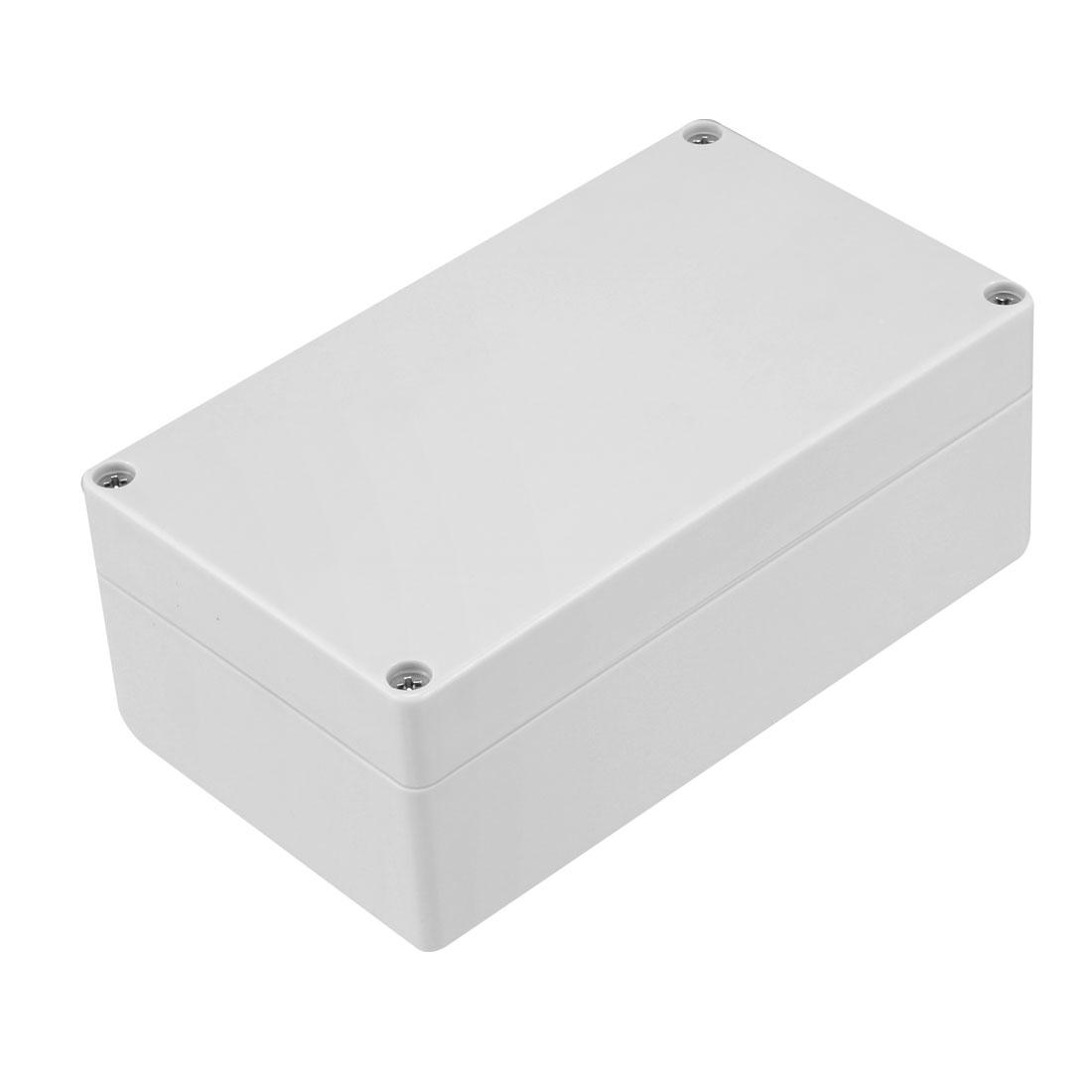 158mm x 90mm x 60mm IP65 Electronic Plastic DIY Junction Box Enclosure Case Gray