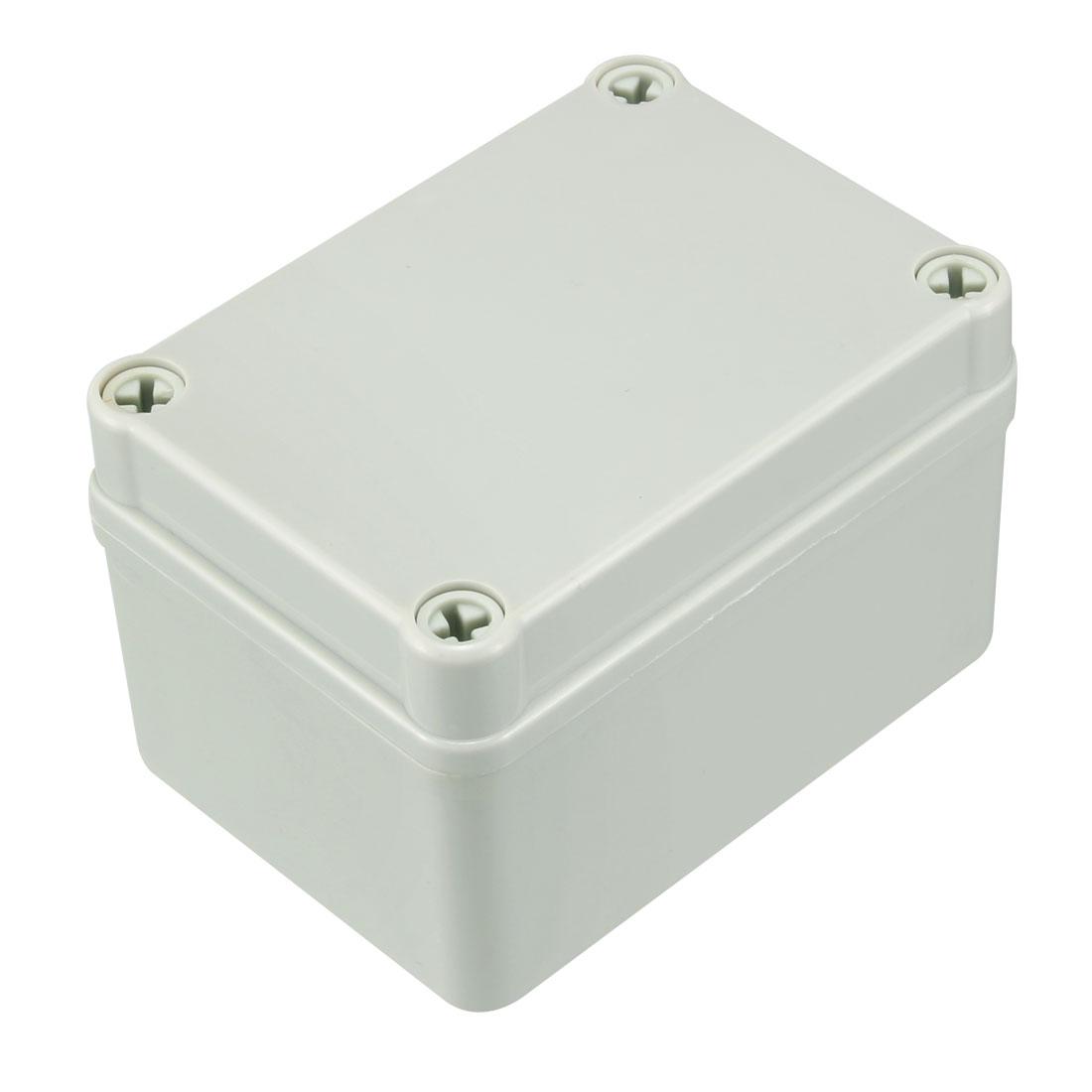 80 x 110 x 70mm Electronic Plastic DIY Junction Box Enclosure Case Gray