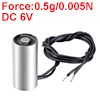 13mm x 27mm DC6V 0.5g/0.005N Sucking Disc Solenoid Lift Holding Electromagnet