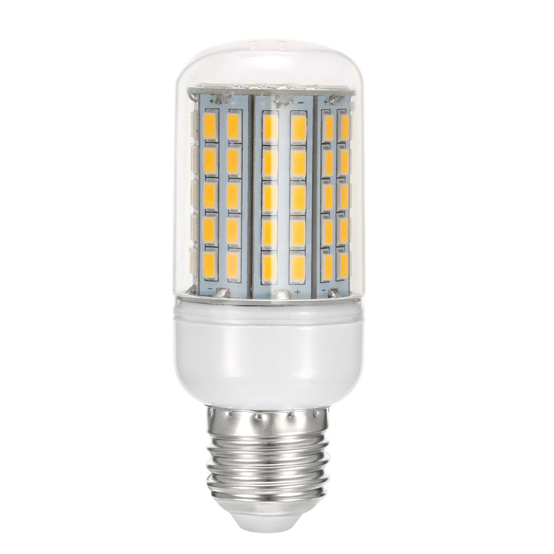 AC 220V 4.4W E27 Screw Base 96 LEDs 5730 Warm White 3000K LED Corn Light Bulb