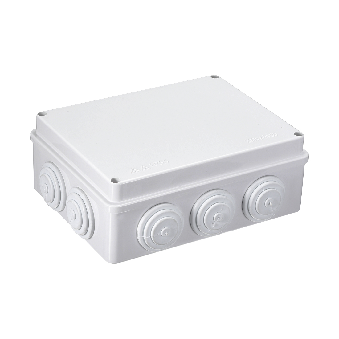 200 x 155x 80mm Electronic ABS Plastic DIY Junction Box Enclosure Case Gray