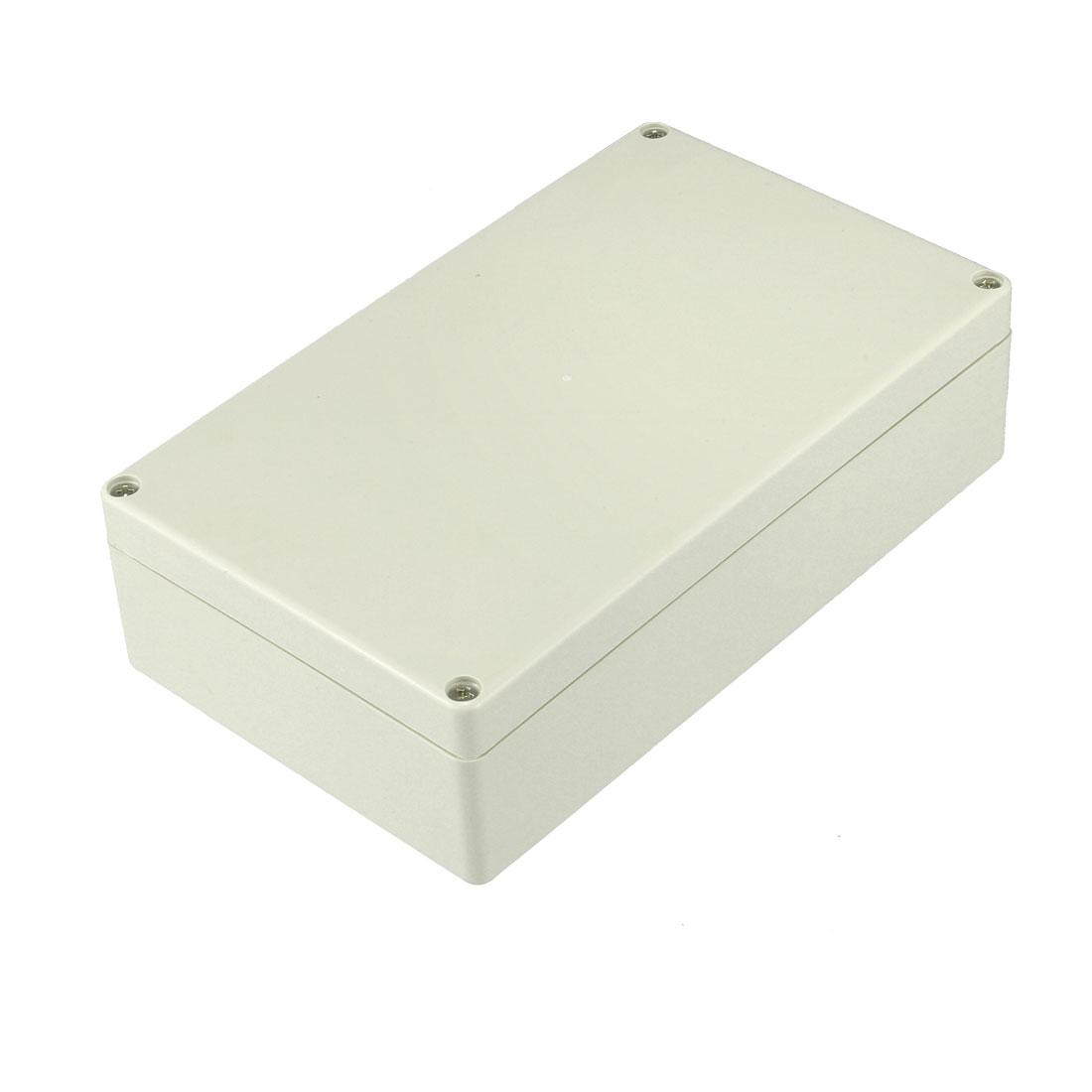 200 x 120 x 56mm Electronic ABS Plastic DIY Junction Box Enclosure Case Beige