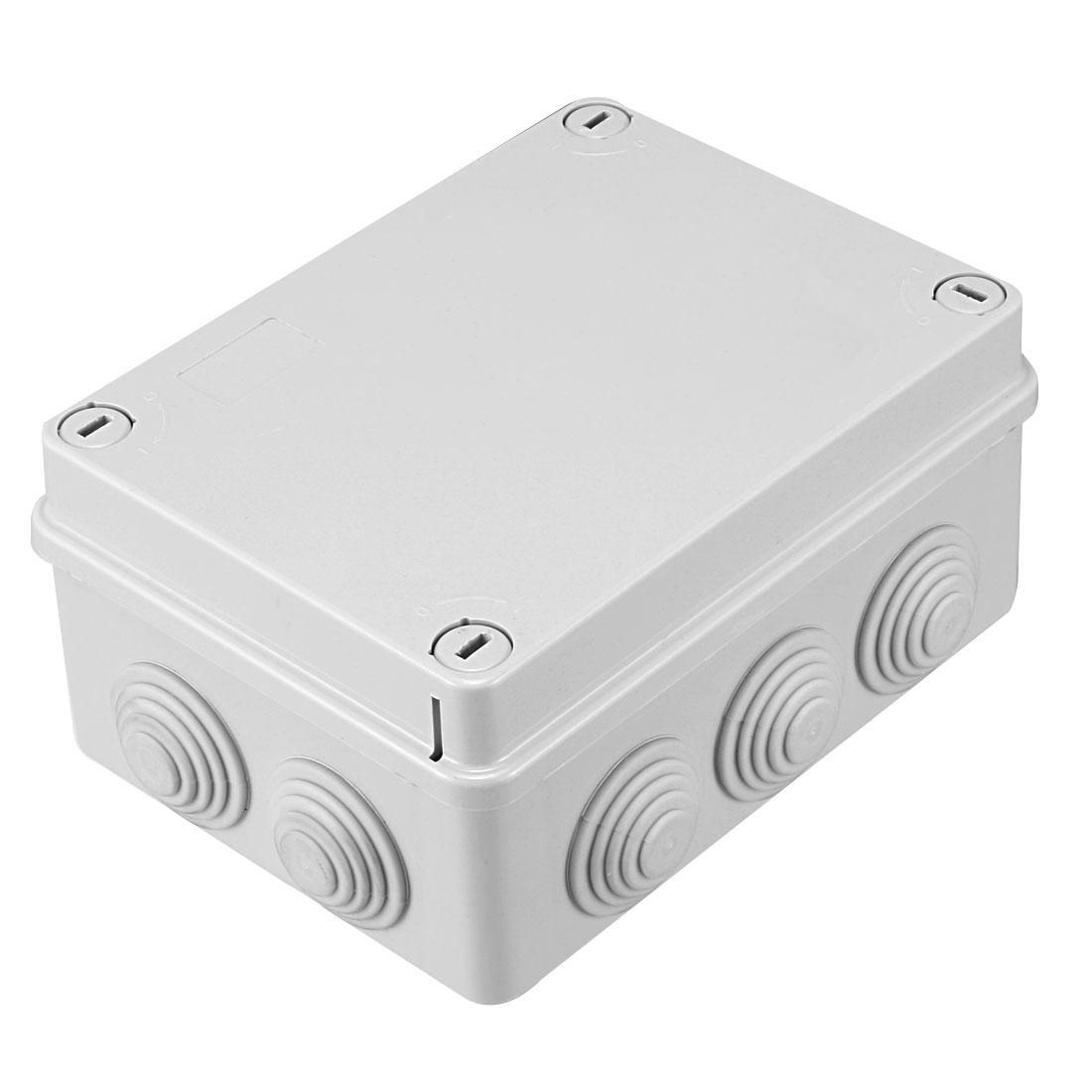 150 x 110 x 75mm Electronic ABS Plastic DIY Junction Box Enclosure Case Grey