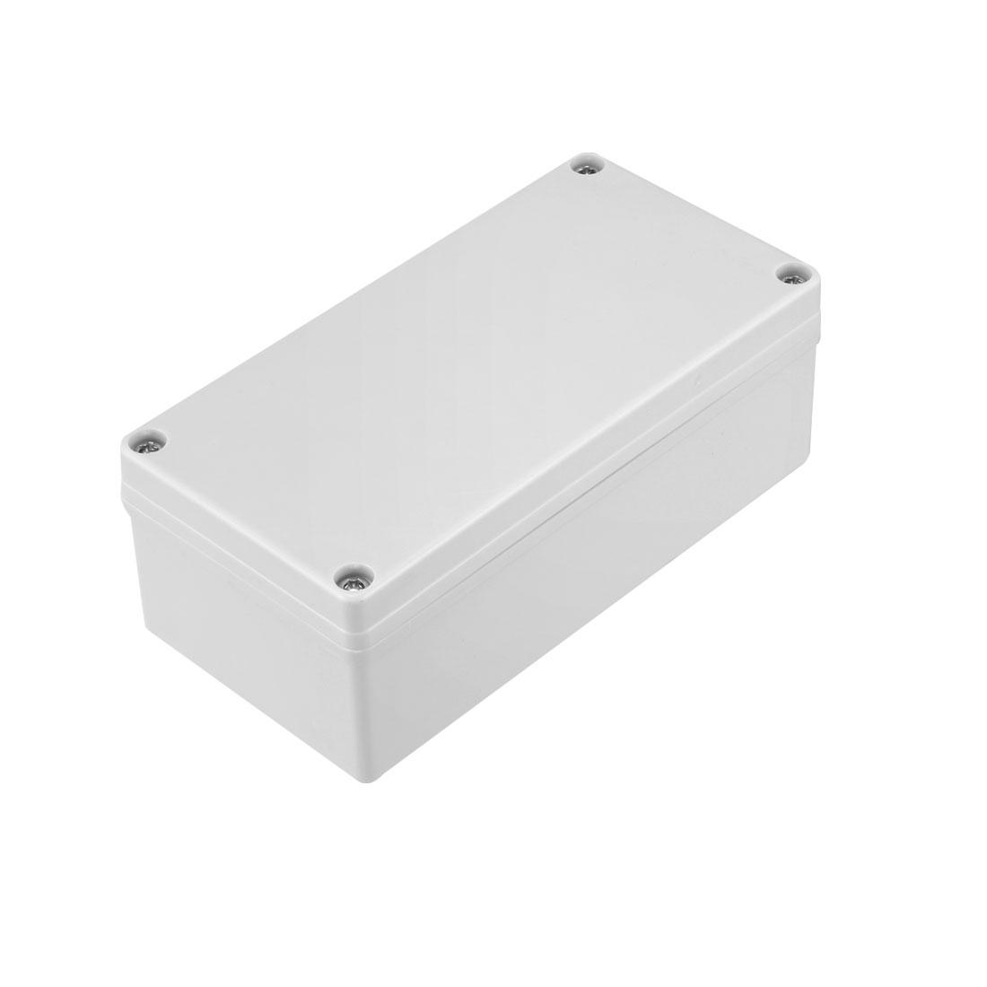 80 x 160 x 60mm Electronic ABS Plastic DIY Junction Box Enclosure Case Grey