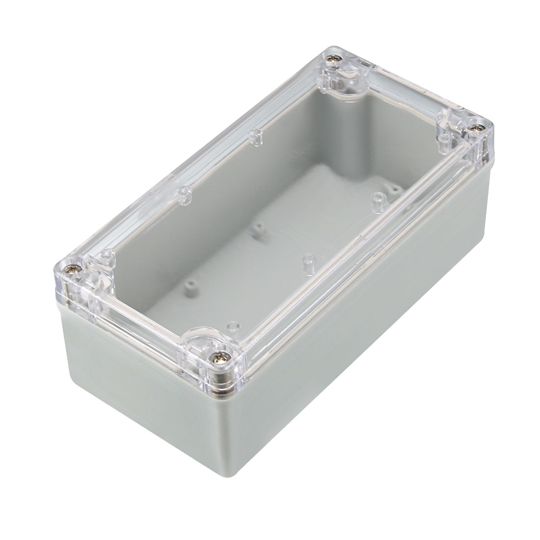 80x160x55mm Electronic ABS Plastic DIY Junction Box Enclosure Case w Clear Cover