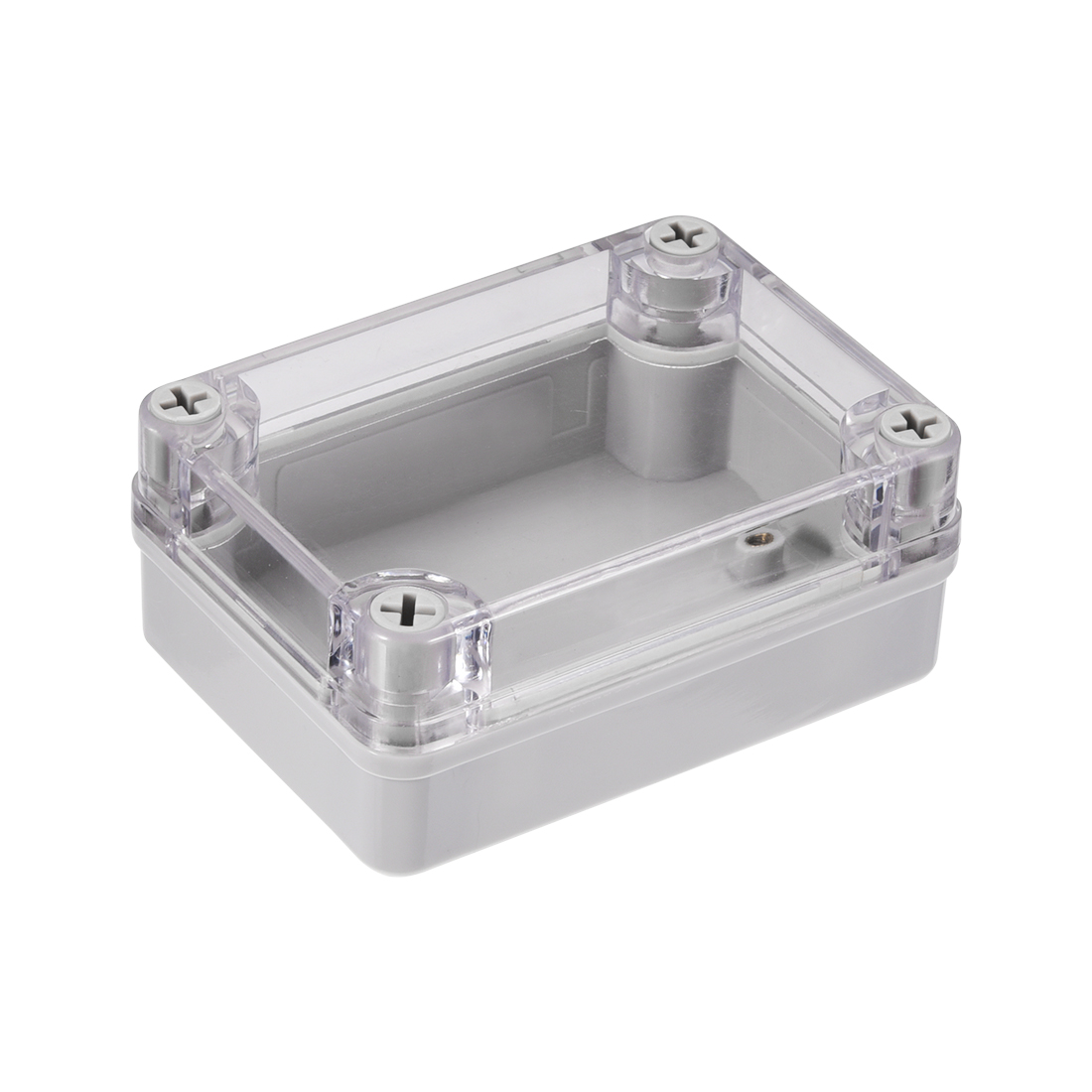 110 x 80 x 47mm Electronic ABS DIY Junction Box Enclosure Case w Clear Cover