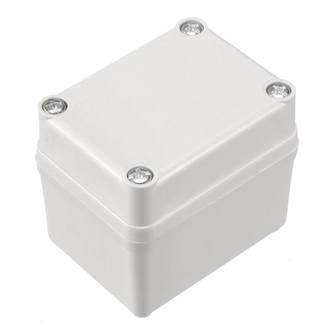 65 x 50 x 55mm Electronic ABS Plastic DIY Junction Box Enclosure Case Grey