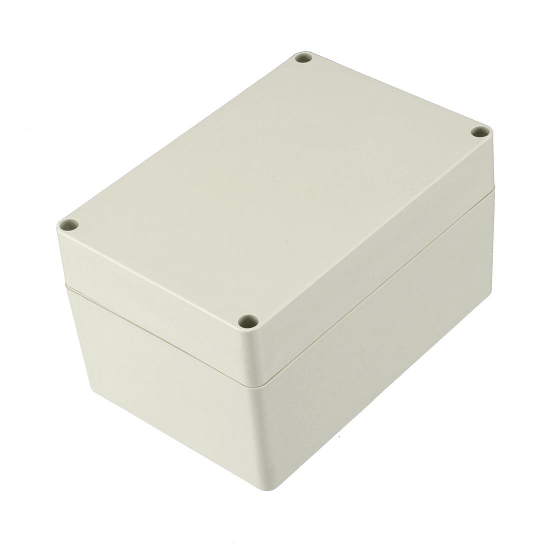160 x 110 x 90mm Electronic ABS Plastic DIY Junction Box Enclosure Case Beige