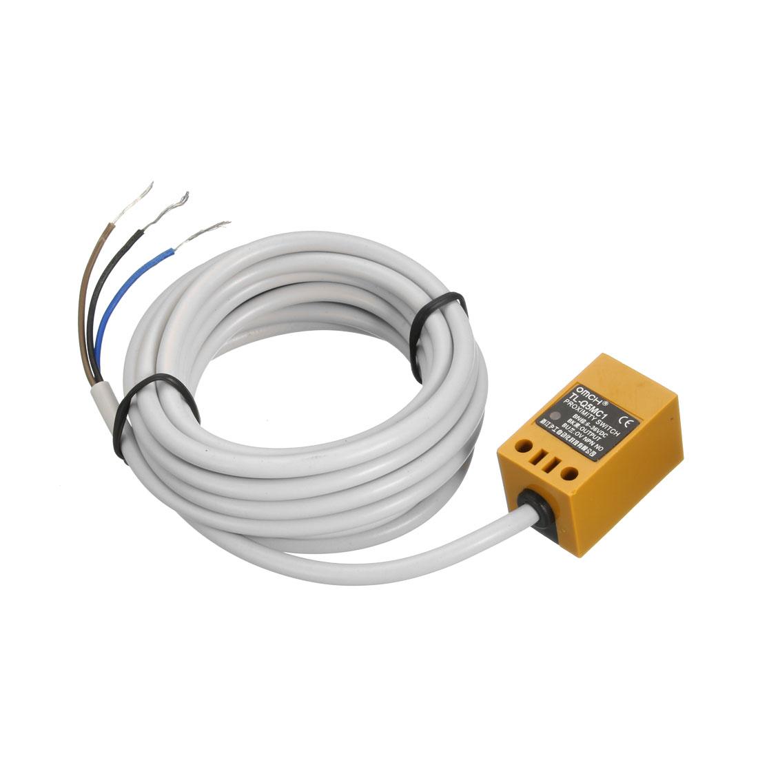 5mm Inductive Proximity Sensor Switch NPN NO DC 6-36V 200mA 3-wire TL-Q5MC1