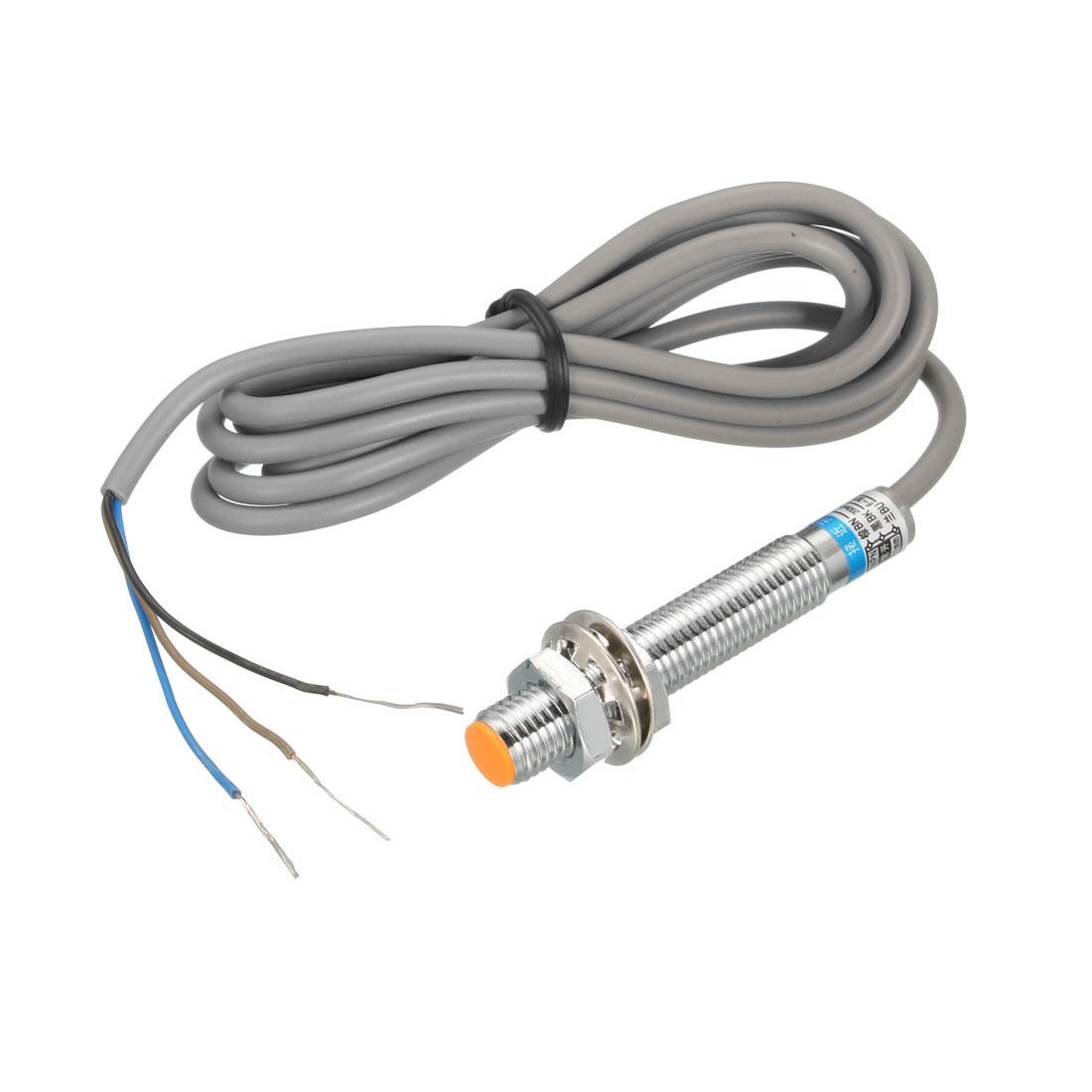 1mm Inductive Proximity Sensor Switch NPN NO DC 6-36V 200mA 3-wire LJ8A3-1-Z/BX