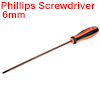 #2(PH2) Phillips Screwdriver 10 Inch Round Shaft Magnetic