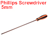 #1(PH1) Phillips Screwdriver 12 Inch Round Shaft Magnetic