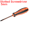 5mm Slotted Screwdriver 3 Inch Round Shaft Magnetic