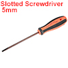 5mm Slotted Screwdriver 5 Inch Round Shaft Magnetic