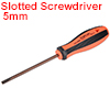 5mm Slotted Screwdriver 4 Inch Round Shaft Magnetic