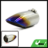 74mm Inlet Dia Colorful Stainless Steel Exhaust Tail Muffler Tip Pipe for Focus