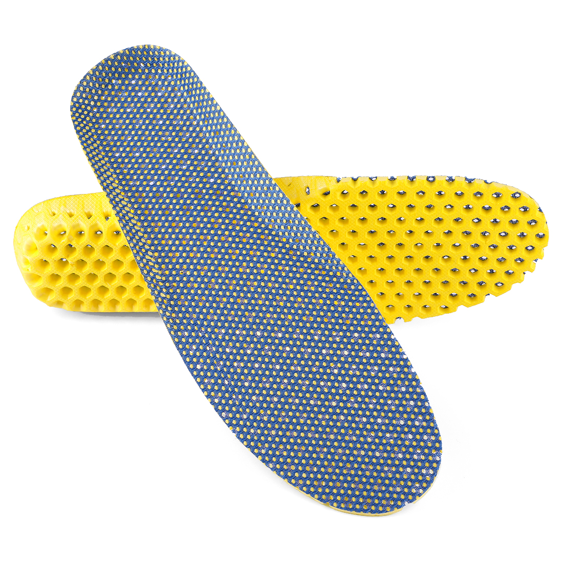 Eva Foam Shoe Insoles for Women and Men Breathable W11 /M 9 (US) Dark Blue