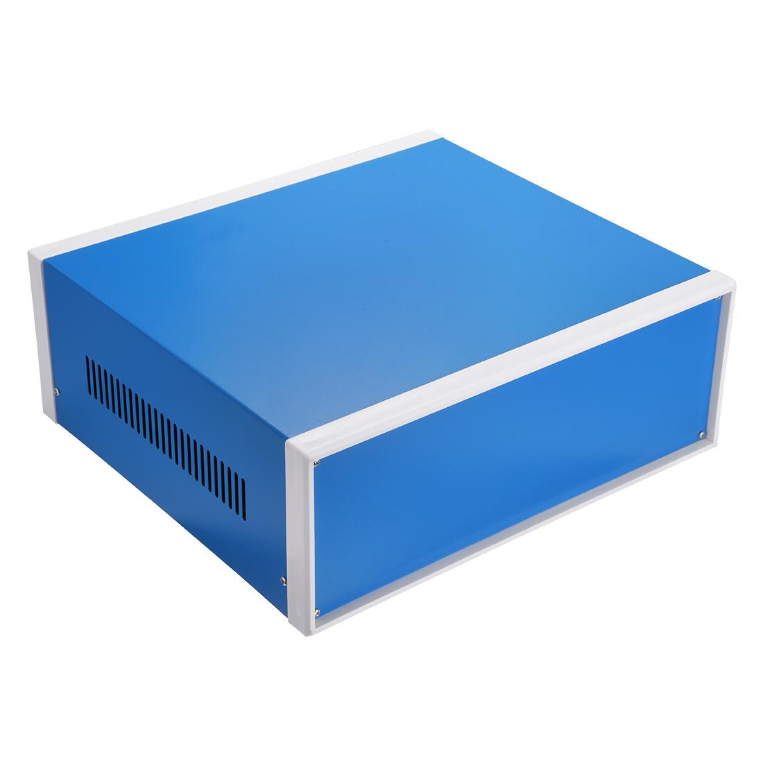 310 x 285 x 115mm Electronic Plastic DIY Junction Box Enclosure Case Blue