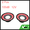 2pcs 12V 5 Inches 105db Motorcycle Speaker Horn Audio Power Loud Dome Tweeter