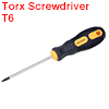 T6 Screwdriver Security Torx Driver 3 Inch Shaft Magnetic