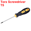 T5 Screwdriver Security Torx Driver 2.4 Inch Shaft Magnetic