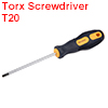 T20 Screwdriver Security Torx Driver 4 Inch Shaft Magnetic