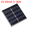 2V 80mA 0.16W Poly Mini Solar Cell Panel Module DIY for Phone Toys Charger