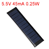 5.5V 45mA 0.25W Poly Mini Solar Cell Panel Module DIY for Phone Toys Charger